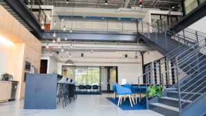 entrepreneurship garage interior
