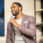 Former New Orleans Saints star receiver, Marque Colston, CEO of Marques Colston Enterprises (MCE)