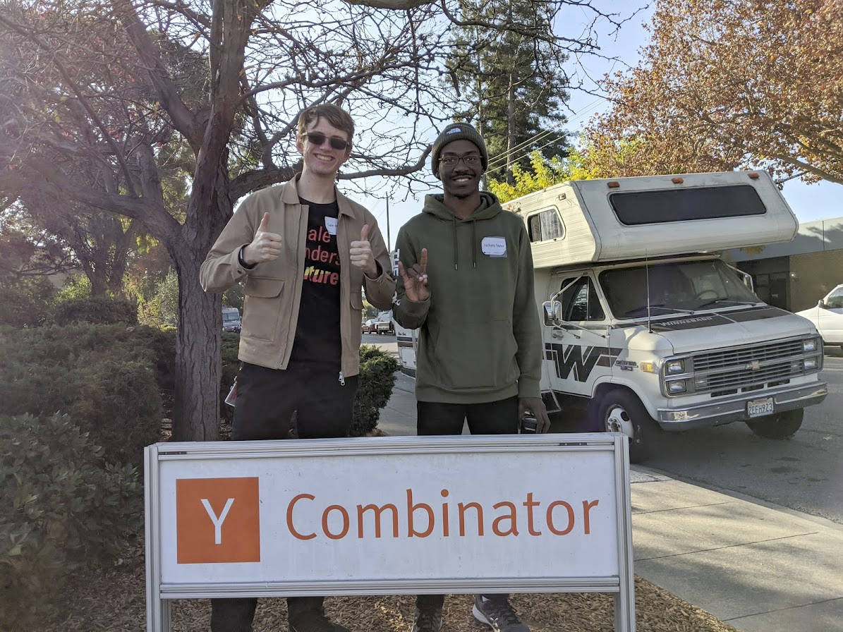 Sam during a Silicon Valley Trip hosted by NC State Entrepreneurship
